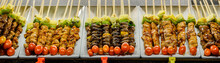 Skewers Of Grilled Vegetables ...