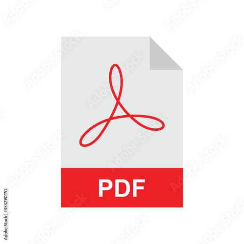 Fotografie, Tablou PDF format file Template for your design