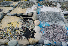 Pebble Stones Grouped Together...