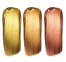 Creative Brushstrokes Of Gold ...