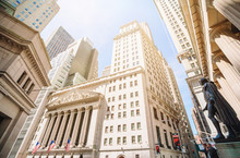 The New York Stock Exchange At...