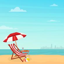 Hello Summer. Relaxing Scene O...