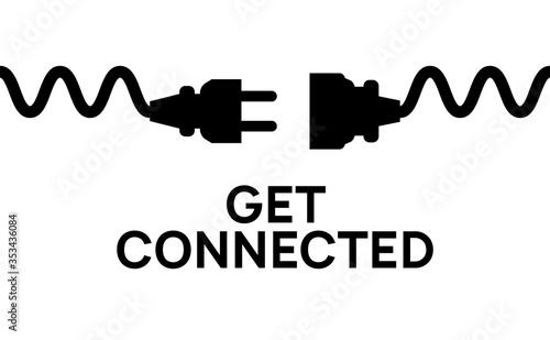 Photo Electric Plug connect concept socket