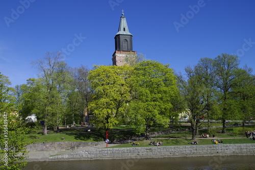 Fototapeta St Michael Kirche Turku, Finnland