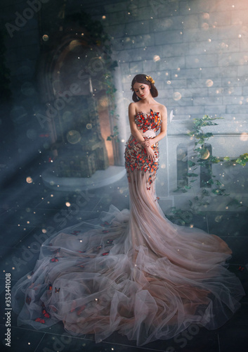 Fotografiet Fantasy beauty woman princess
