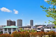 Japan's Residential Area, Suburbs Of Tokyo  日本の住宅地