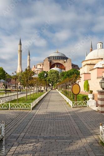 Photo Hagia Sophia Museum in Sultanahmet, Istanbul, Turkey