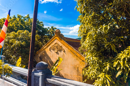 Van Son Pagoda of Con Dao island in Vietnam Wallpaper Mural