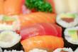 plateau de sushi et maki