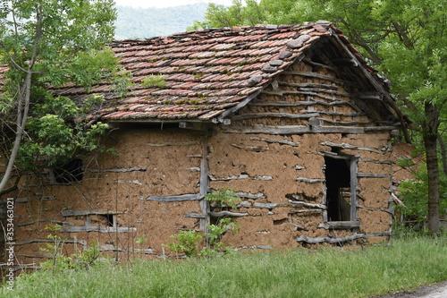 Old hause wood, soil, Stara Planina, Serbia