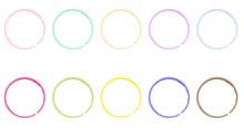Ten Multi-colored Rings Imitat...