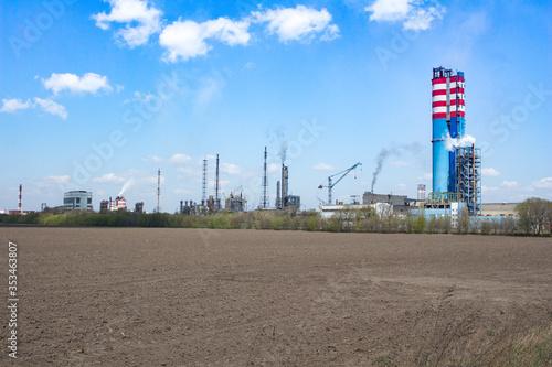 Plant manufacture of nitrogen fertilizers Wallpaper Mural