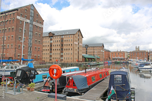 Valokuva Gloucester Docks Canal Basin, England