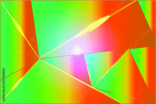 Obraz abstract background with rainbow - fototapety do salonu