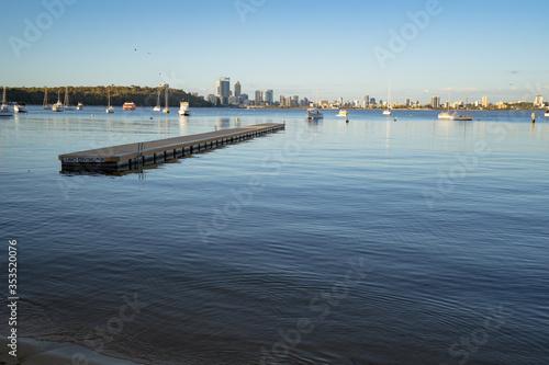 Photo A calm morning at Matilda Bay Reserve, Perth