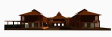 3D Illustration Of Building De...