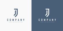 Initial Letter J Logo. Monogra...