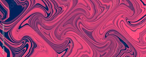 Panorama liquid marble wave background Slika na platnu