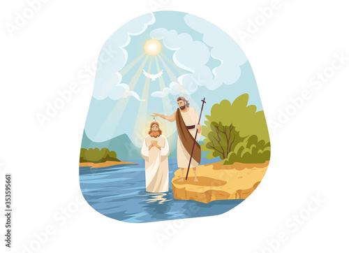 Vászonkép Christianity, religion, Bible concept