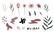 Simple Pink, Brown Geometric S...