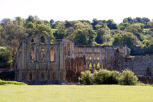 Rievaulx Abbey Exterior With T...