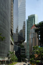 High Rise Buildings At Singapore