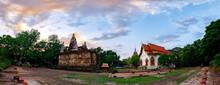 Panorama View In Wat Chet Yot,...