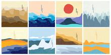Vector Illustration Landscape....