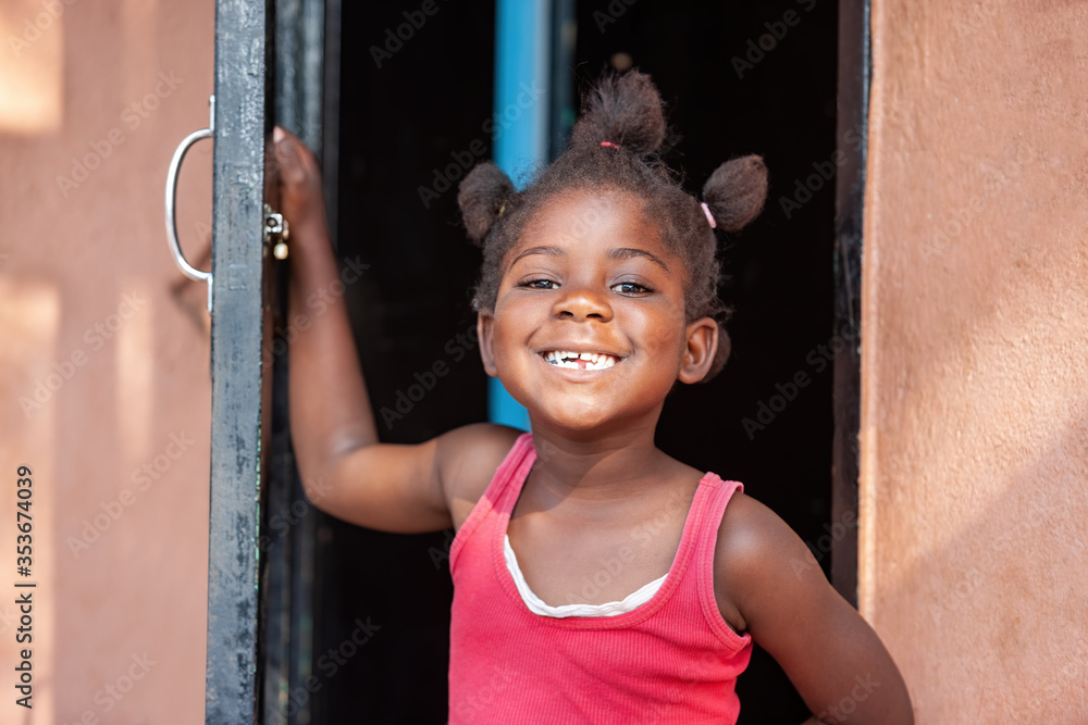 Fototapeta African child