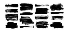 Vector Black Paint, Rectangula...