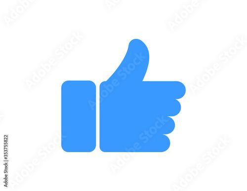 Obraz like icon - fototapety do salonu