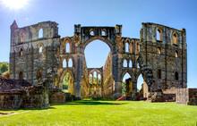 Archs  At Rievaulx Abbey Ruins...