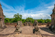 Ancient Buddhist Khmer Temple ...