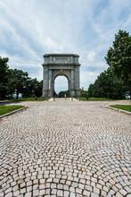 Valley Forge Memorial Park Arch Pennsylvania