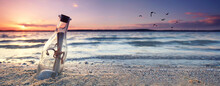 Urlaub Am Strand - Fundstück