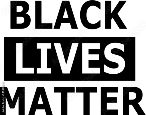 Obraz Black Lives Matter - fototapety do salonu