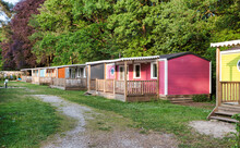 Mobile Homes, Yellow Green Wit...
