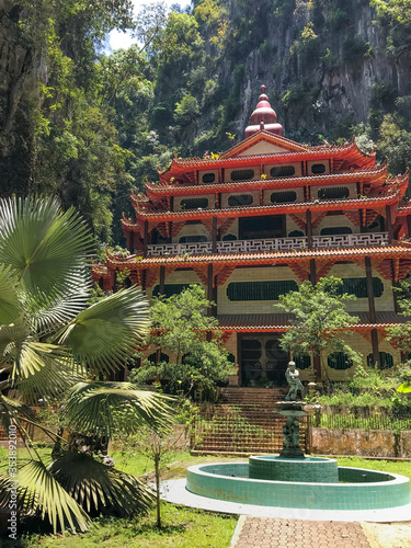 Tablou Canvas Ipoh Malaysia - Sam Poh Tong Temple 1