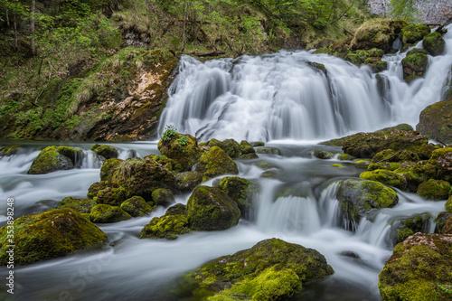 Fototapeta Pießling Ursprung Wasserfall