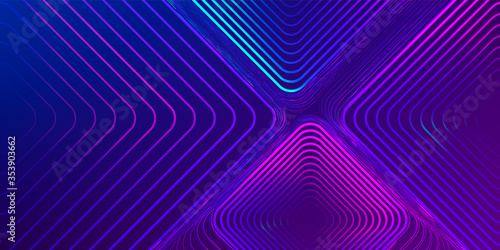 Fototapeta Abstract Fluid creative templates, cards, color covers set. Geometric design, liquids, shapes. Trendy vector collection. Pastel and neon design, geometric fluid graphic shape, vector background. obraz