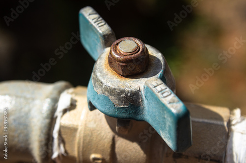 Photo Approximate image of a water meter tap
