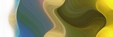 Abstract Flowing Horizontal He...