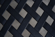 Metal With Crossing Pattern An...