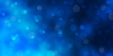 Dark BLUE Vector Texture With ...