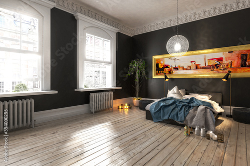 Luxus Apartment (conception) - 3d visualization