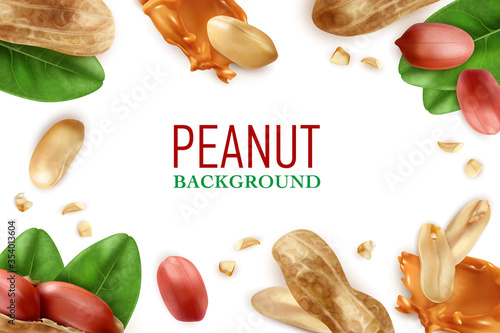 Fotografía Peanut Realistic Frame