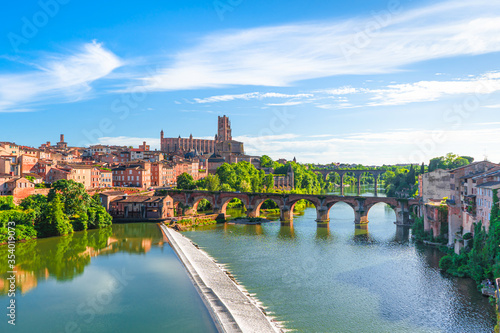 Photo Albi in a summer sunny day,France