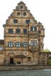 canvas print picture - Historische Gebäude am Domberg zu Bamberg