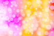 canvas print picture - Abstract multicolored blurred bokeh background.