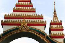 Gateway To A Wat In Siamese La...